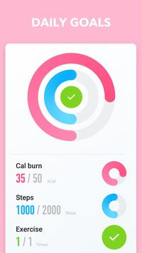 30 Day Workout: Fast Home Weight Loss & Diet Plans screenshot 4