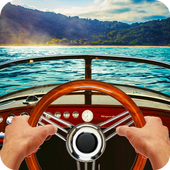 Driving Boat Simulator icon
