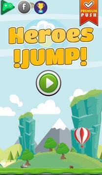 Heroes Jump! poster