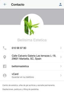 Bellisima Estetica screenshot 1