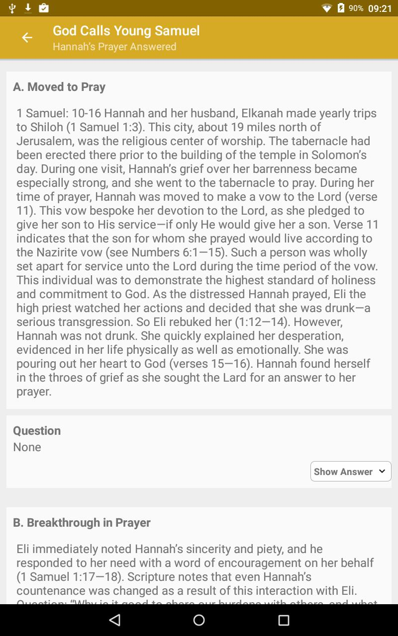 Sunday School Lessons for Android - APK Download