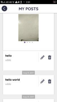 Ivy Social Admin screenshot 3