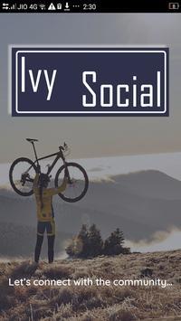 Ivy Social Admin poster
