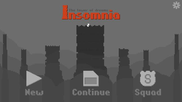 Insomnia - The dream tower poster