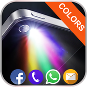 Blinking Color Flash Alert icon