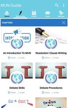 MUN Guide screenshot 1
