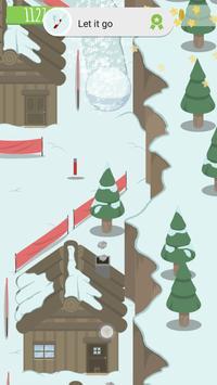 Avalanching: snowboard runner! apk screenshot
