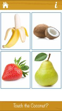 Smart Kids - Learn Fruits and Vegetables poster
