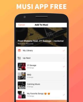 Musi App Free screenshot 3