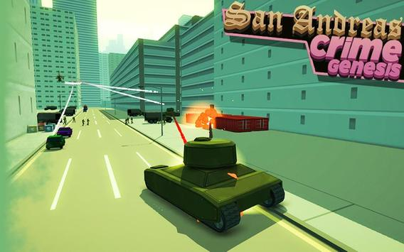San Andreas: Crime Genesis apk screenshot