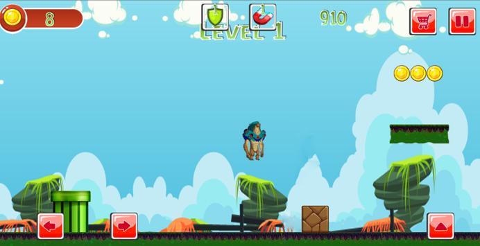ben fight alien runner screenshot 2