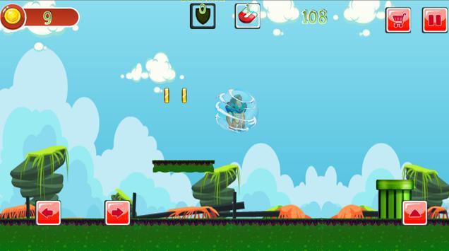 ben fight alien runner screenshot 3