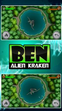 Hero Ben - Kraken Alien Fight poster