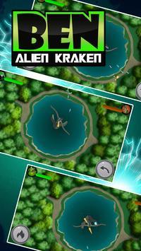 Hero Ben - Kraken Alien Fight screenshot 1
