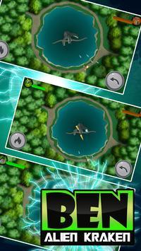 Hero Ben - Kraken Alien Fight screenshot 3