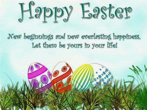 Happy Easter 2017 Photo Maker poster