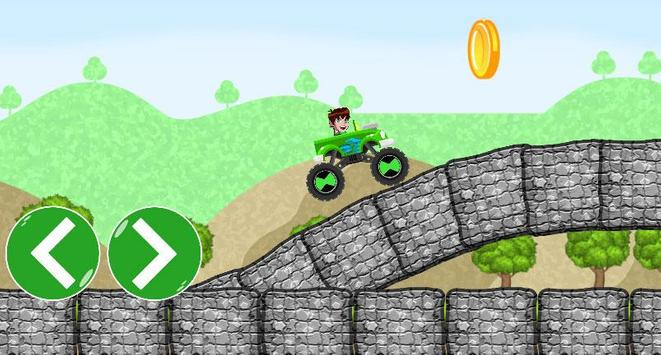 Ben Car 10 racing game screenshot 1