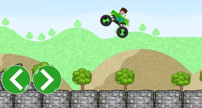Ben Car 10 racing game screenshot 2