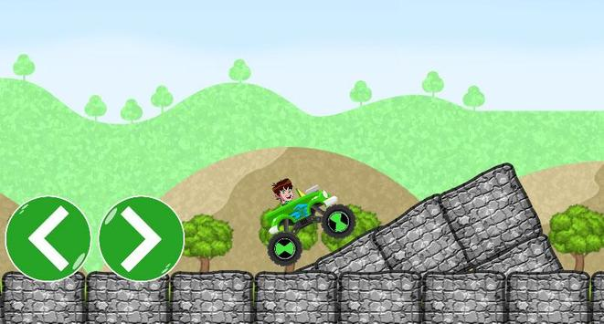 Ben Car 10 racing game screenshot 3