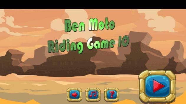 Ben Moto Riding Game 10 poster
