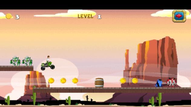 Ben Moto Riding Game 10 apk screenshot