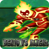 Battle Ben10 vs Aliens Force icon