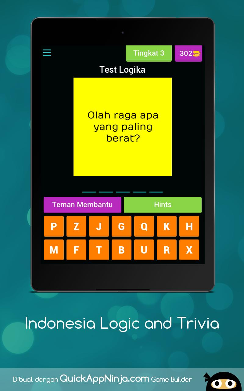Indonesia Logic and Trivia for Android - APK Download