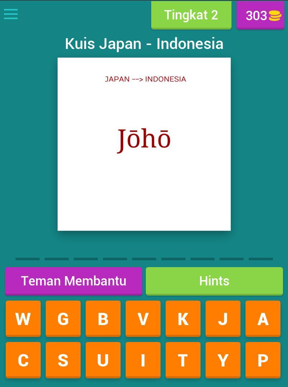 Tebak Arti Kata Bahasa Jepang For Android Apk Download