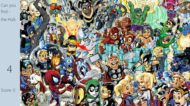 Where's Heroes apk screenshot