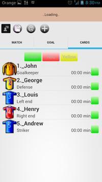 Futsal Notebook apk screenshot