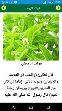 العلاج بالأعشاب الطب النبوي apk screenshot