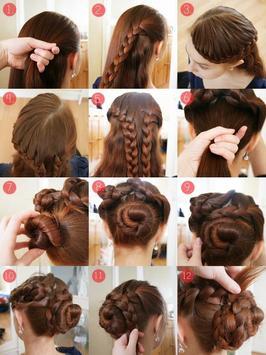 step by step- Hairstyles apk screenshot