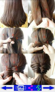 step by step- Hairstyles screenshot 5