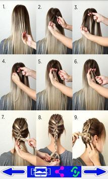 step by step- Hairstyles screenshot 6