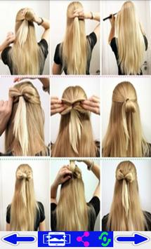step by step- Hairstyles poster