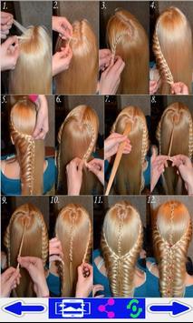 step by step- Hairstyles screenshot 1
