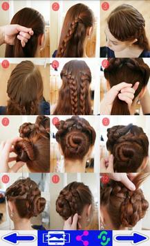 step by step- Hairstyles screenshot 2