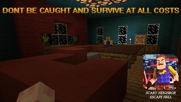 Crazy Neighbor Survival Scary House screenshot 2
