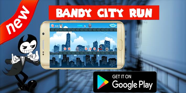 Bendy City Run apk screenshot