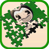 Bendy Puzzle Kids icon
