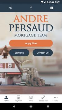 Andre Persaud Mortgage App poster