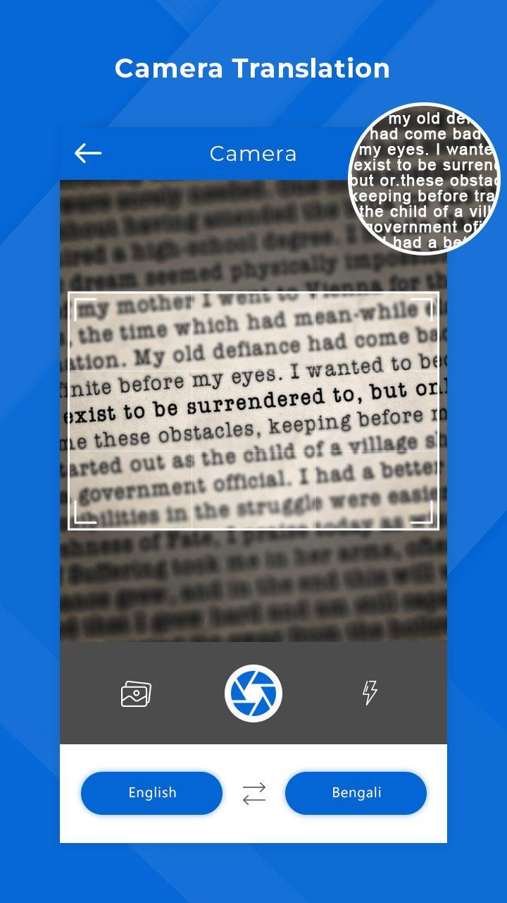 Bengali Camera & Voice Translator for Android - APK Download