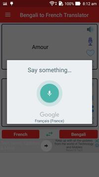 Bengali French Translator screenshot 2