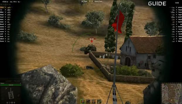 Guide World of Tanks Game apk screenshot