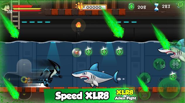 Ben xlr8 Alien Transform screenshot 4