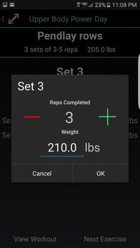 LiftIt - Gym Assistant apk screenshot