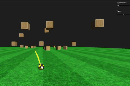 Football Boxes Shooter 3D poster