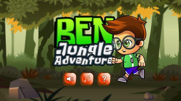 Ben Boy Jungle Espace poster