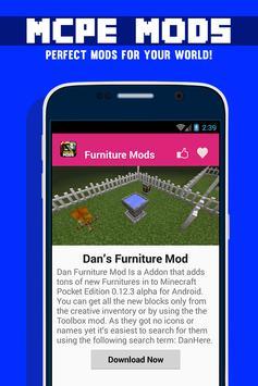 Furniture MOD For MCPE! screenshot 1