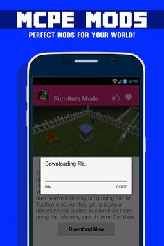 Furniture MOD For MCPE! screenshot 2